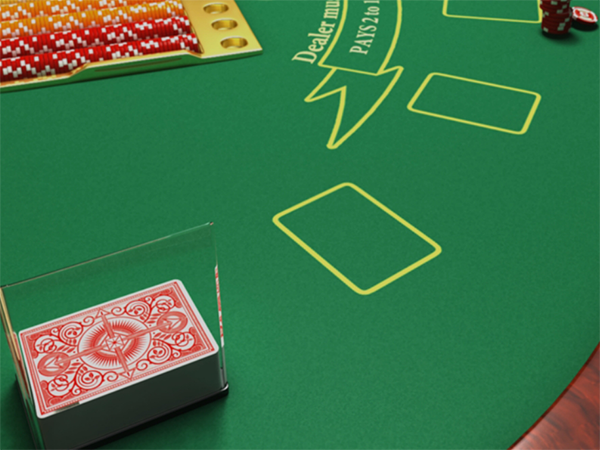 Play the 3D Blackjack game
