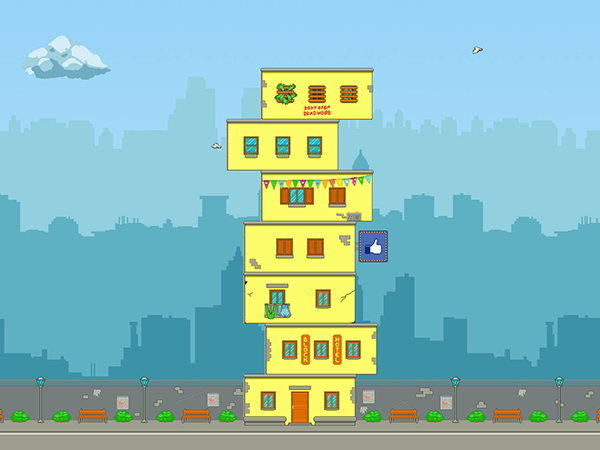 Play the City Blocks game