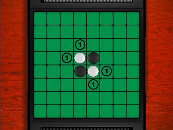 Play the Reversi game